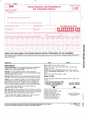 1096LASER.1  Form Example on mortgage sample, for school, wells fargo, printable irs,
